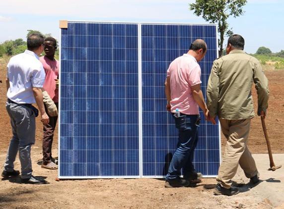 Salima Solar starts construction