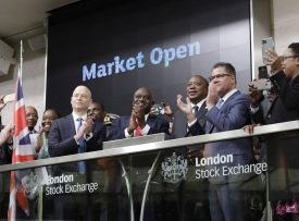 London Stock Exchange welcomes its first Kenya shilling corporate bond on the ISM, Acorn Holdings, guaranteed by GuarantCo